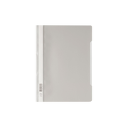 Durable CLEAR VIEW FOLDER – ECONOMY 2573 A4 report cover Grey