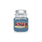 Yankee Candle Mulberry & Fig Delight - small Jar, Brenndauer ca. 20-30 Std.