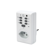 Steffen 1204438 electrical timer White Daily timer