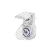 Steffen 1204404 electrical timer White Daily timer