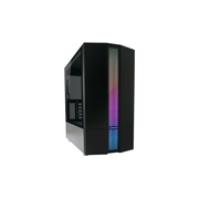 Lc-Power Micro Tower LC-711MB-ON - 1x 2.5. 2x 3.5 intern