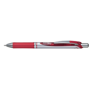 Pentel Energel XM Klick Clip-on retractable pen Red 12 pc(s)