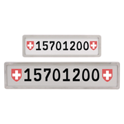Tegro 15701200 vehicle exterior part / accessory License plate frame
