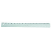 Linex: Lineal 40cm, Tuschekante - Lineal 40cm