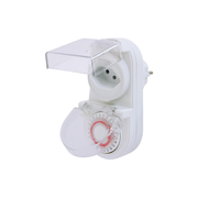 Steffen 1204424 electrical timer White Daily timer