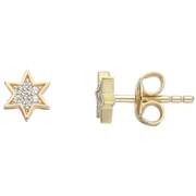 Esprit Ohrringe starry gold - starry Earrings - Yellow Gold