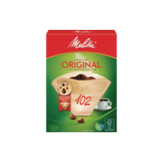 Melitta 102 80 pc(s) Brown Basket Disposable coffee filter