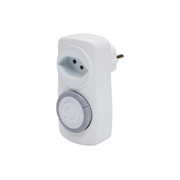 Steffen 1274488 electrical timer White Daily timer