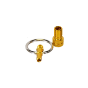 by.schulz Ventiladapter - Mini-Tool eloxiert GOLD
