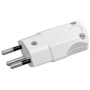 Steffen 14 9619 1 electrical power plug T12 White