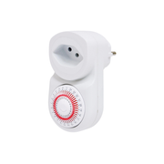 Steffen 1204420 electrical timer White Daily timer