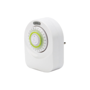 Steffen 1204434 electrical timer White Daily timer