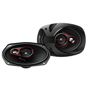Pioneer 3-Way shallow 6x9 cm - car speaker/400W/Black-Red