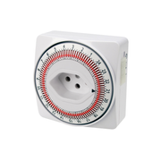 Steffen 1204486 electrical timer White Daily timer