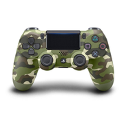 Sony PS4 Dualshock 4 Controller Green Camou - Green Camouflage, Wireless