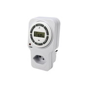 Steffen 1204432 electrical timer White Daily/Weekly timer