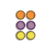 Rexel Magnets Assorted Colours (6)