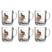Montana 050620 cup Brown, White Universal 6 pc(s)