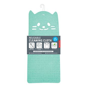 Kikkerland CU324 cleaning cloth Cellulose Blue, Green, Yellow 3 pc(s)