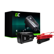 Green Cell ACAGM06 vehicle battery charger 12/6 V Black