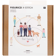 Stickpackung Figurico Family