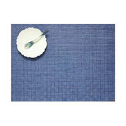 Chilewich Bay Weave placemat Rectangle Blue 1 pc(s)