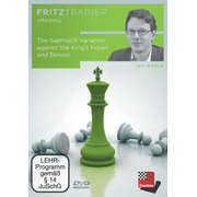 The Saemisch Variation against the King's Indian and Benoni - Fritztrainer - interaktives Vixdeo-Schachtraining
