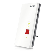 FRITZ! Repeater 2400 Network transmitter & receiver Grey, White 10, 100, 1000 Mbit/s