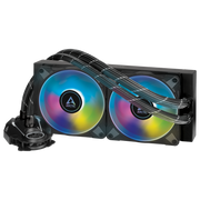 ARCTIC Liquid Freezer II 240 A-RGB Multi Compatible All-in-One CPU Water Cooler with A-RGB