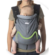 Chicco Myamaki fit Baby carrier backpack Green, Grey