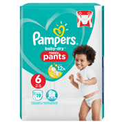 Pampers 81666626 disposable diaper Boy/Girl 6 19 pc(s)