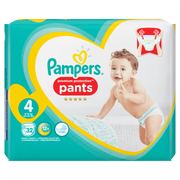 Pampers 81666345 disposable diaper Boy/Girl 4 32 pc(s)