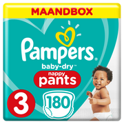 Pampers 81666563 disposable diaper Boy/Girl 3 180 pc(s)