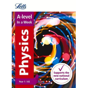 Letts A-Level in a Week - New 2015 Curriculum - A-Level Physics Year 1 (and As): In a Week