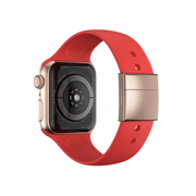 xMount XM-WATCHBAND-42-19-02 smartwatch accessory Band Gold, Red Aluminium, Silicone