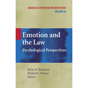 Emotion and the Law - Psychological Perspectives