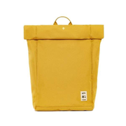 Lefrik Roll backpack Casual backpack Yellow Polyester, Thermoplastic elastomer (TPE)