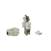 Equip Cat.6A Shielded Keystone Jack Toolfree
