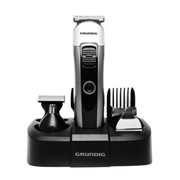 Grundig GMS3240 hair trimmers/clipper Black, Silver