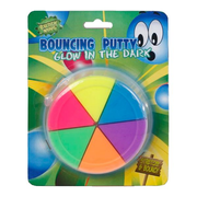 Bouncing Putty 6 Farben Glow in the dark