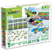 Puzzle & Memory 2 in 1 Dinosaurier