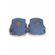 Easygrow 16812 baby carriage hand muff Blue 2 pc(s)