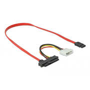DeLOCK 82219 Serial Attached SCSI (SAS) cable 0.5 m 12 Gbit/s Red