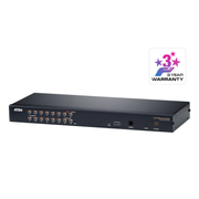 Aten 1-Local/Remote Share Access 16-Port Multi-Interface Cat 5 KVM over IP Switch