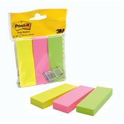 3M 671-3 self-adhesive note paper Rectangle Green, Pink, Yellow 100 sheets
