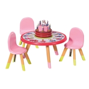 BABY born Happy Birthday Party Table Doll furniture set