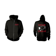 Out Of Step Zipper Hoodie L