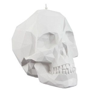 Candellana Skull Candle wax candle Other White 1 pc(s)