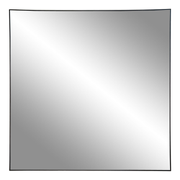 House Nordic Jersey wall mirror Square Black