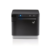 Star Micronics mC-Print3, Thermal, 3in, Cutter, Ethernet (LAN), USB, CloudPRNT, Black, EU & UK, PS60C Power Supply included Wired & Wireless Direct thermal POS printer